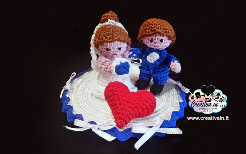 Tutorial: cuore amigurumi - YouTube | 500x800