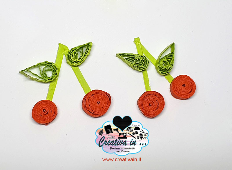 ciliegie quilling