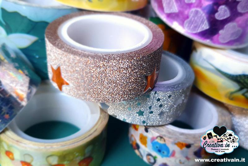 Washi tape. Cos'è e come si usa. Idee e consigli