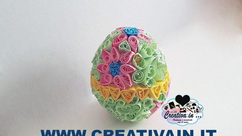 uovo di Pasqua quilling