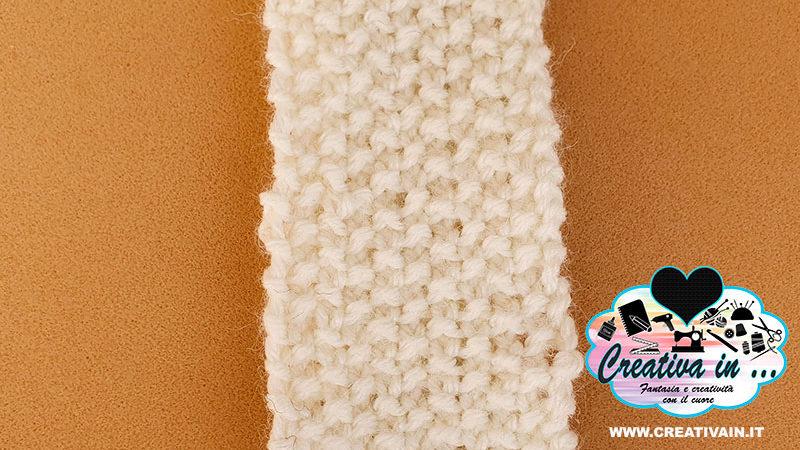 Maglia ai ferri: come fare il punto grana di riso. Videotutorial