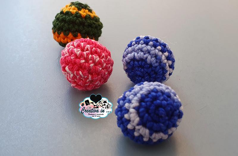 Pallina amigurumi: come fare una sfera all'uncinetto