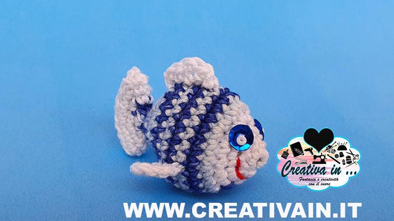 Pesce amigurumi. Tutorial gratuito
