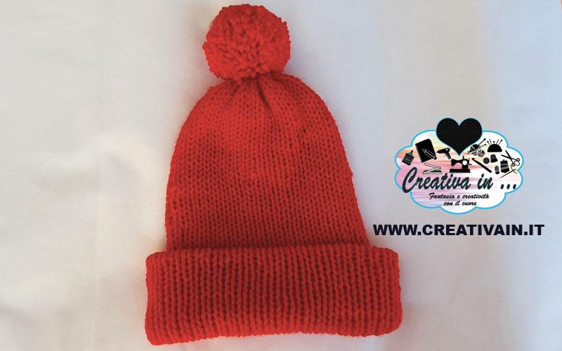 Come fare un semplice berretto di lana. Tutorial
