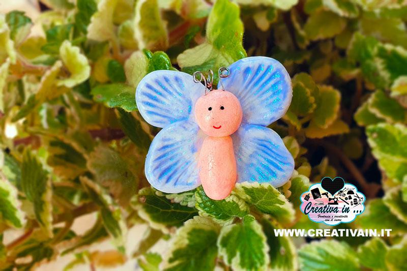 Come fare una farfalla in porcellana fredda. Tutorial