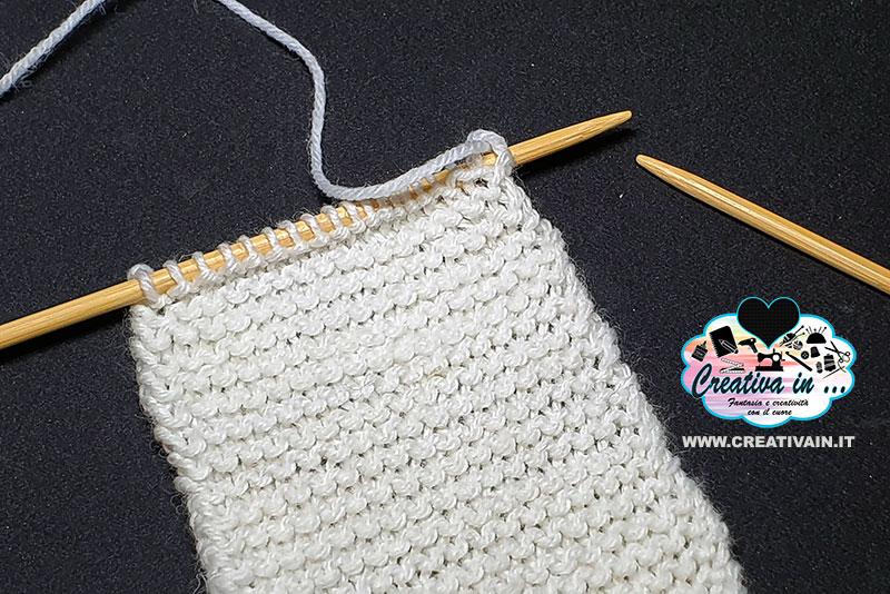 Come fare il punto legaccio a maglia. Tutorial e varianti