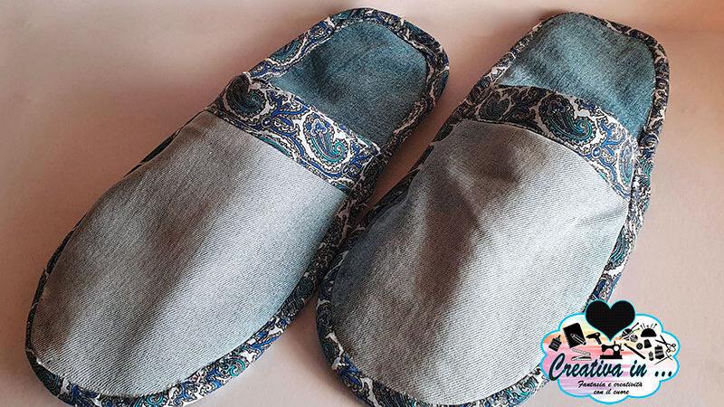 Come cucire delle pantofole di stoffa. Tutorial